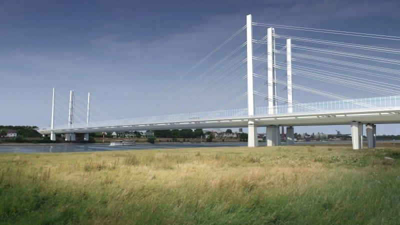 Großauftrag für MCE: Rheinbrücke A40 Duisburg–Neuenkamp © Keipke Architekten