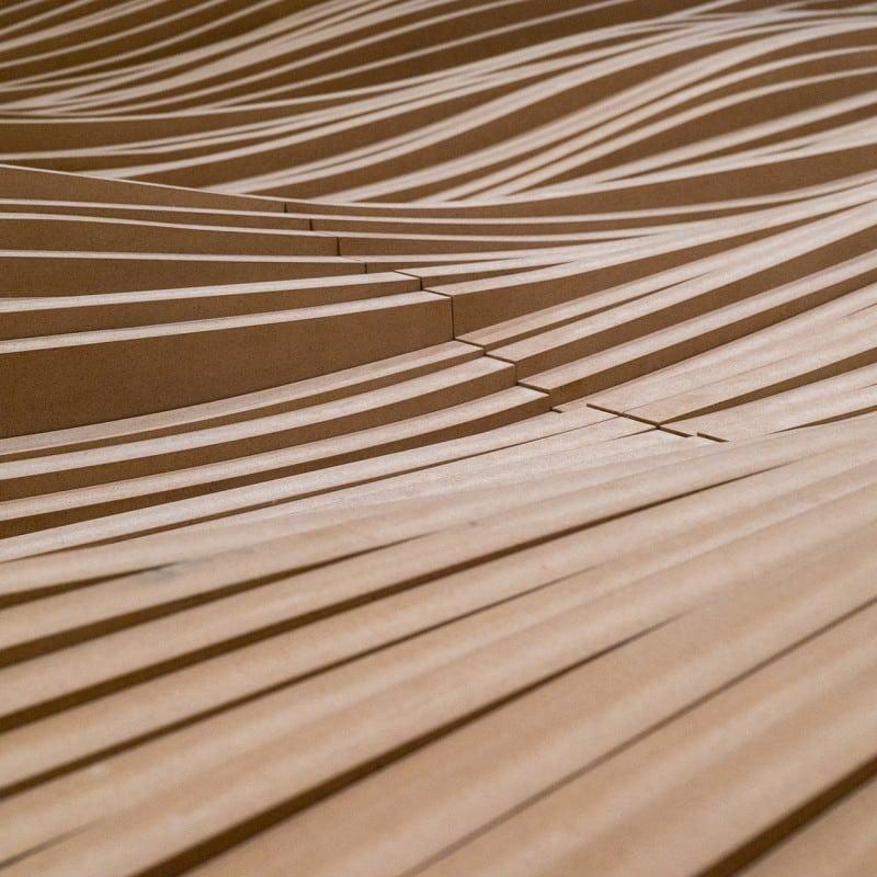 Detailansicht Holzstruktur