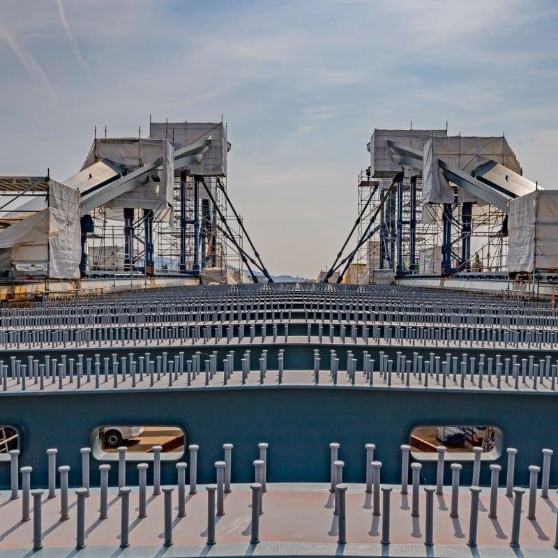 Neue Donaubrücke Linz - Stahl- und Anlagenbau