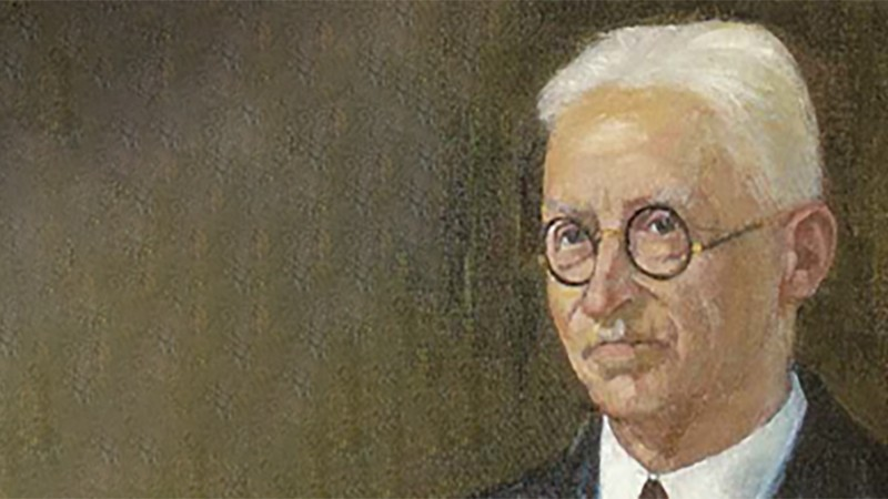 Porträt des Unternehmensgründers Vinzenz Halatschek