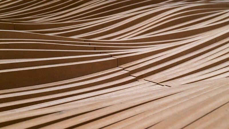 Detailansicht Brettsperrholz