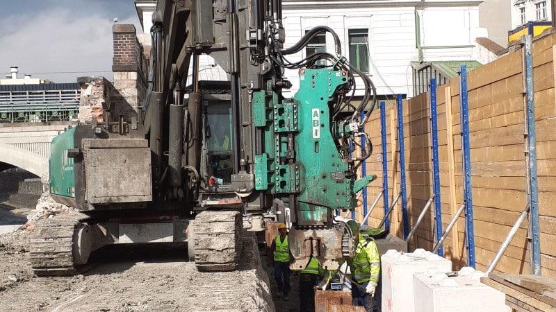 U4 Pilgramgasse: Bauarbeiten
