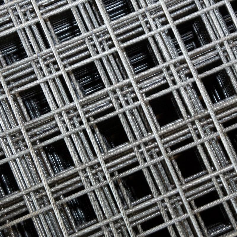 Stahlträger-Ansicht von oben