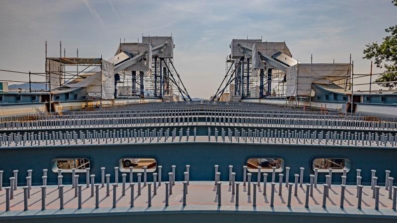 Neue Donaubrücke Linz © Gregor Hartl