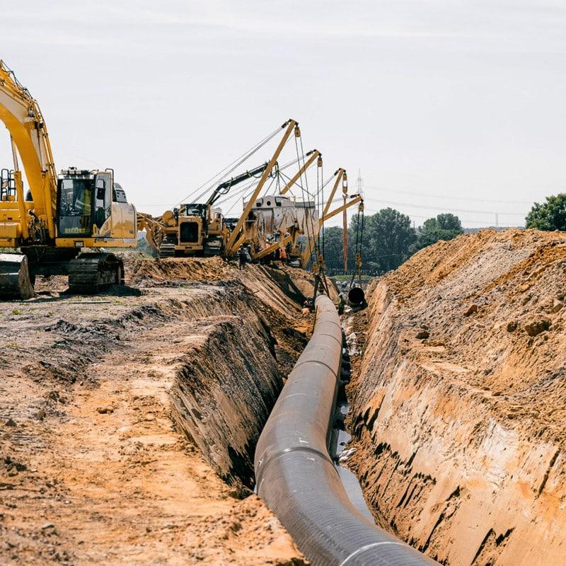 ZEELINK Pipeline-Arbeiten