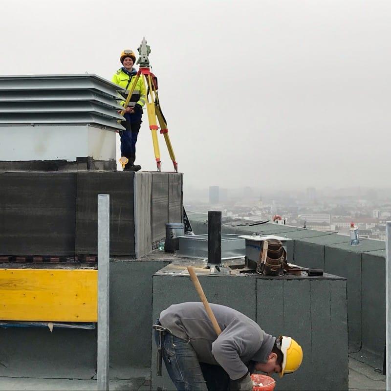 Apprenticeship - Surveying technician © HABAU